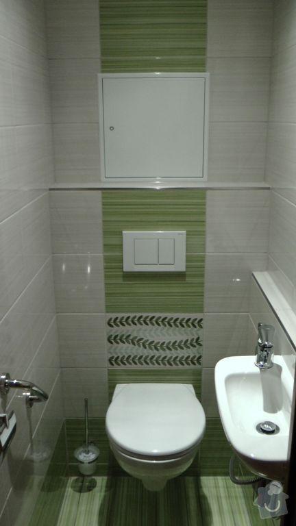 Kompletní rekonstrukce koupelny a toalety dle požadavku: S1840024