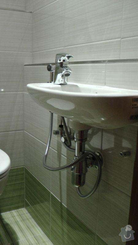 Kompletní rekonstrukce koupelny a toalety dle požadavku: S1840025