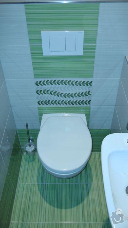 Kompletní rekonstrukce koupelny a toalety dle požadavku: S1840027