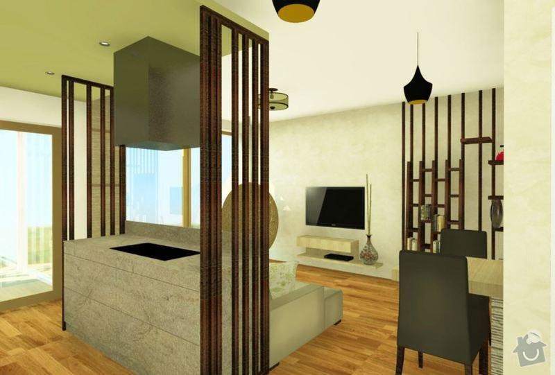 Masivní nábytek - stůl, koupelnová deska, dřevěné poličky/příčky: tycky_kuchyn
