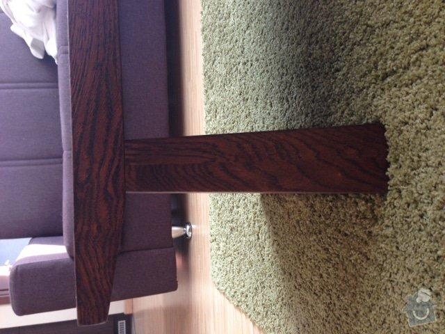 Masivní nábytek - stůl, koupelnová deska, dřevěné poličky/příčky: Stul_3