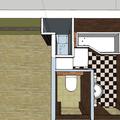 Vodoinstalace pro novou rekonstrukci koupelny wc a kuchyne schema