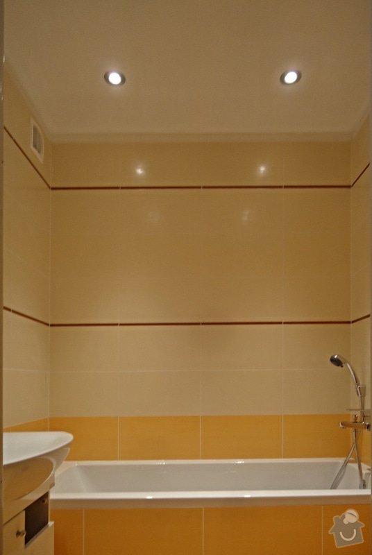 Rekonstrukci WC a koupelny: 01