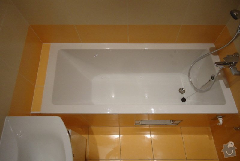 Rekonstrukci WC a koupelny: 02
