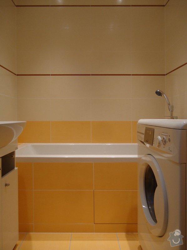Rekonstrukci WC a koupelny: 03