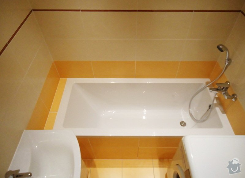 Rekonstrukci WC a koupelny: 04