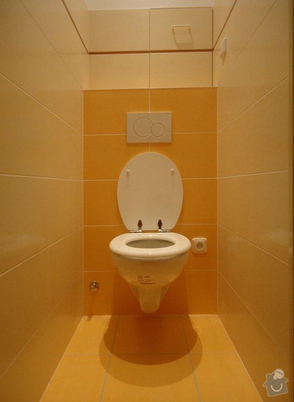 Rekonstrukci WC a koupelny: 07