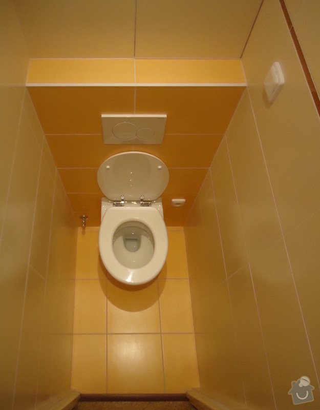 Rekonstrukci WC a koupelny: 08