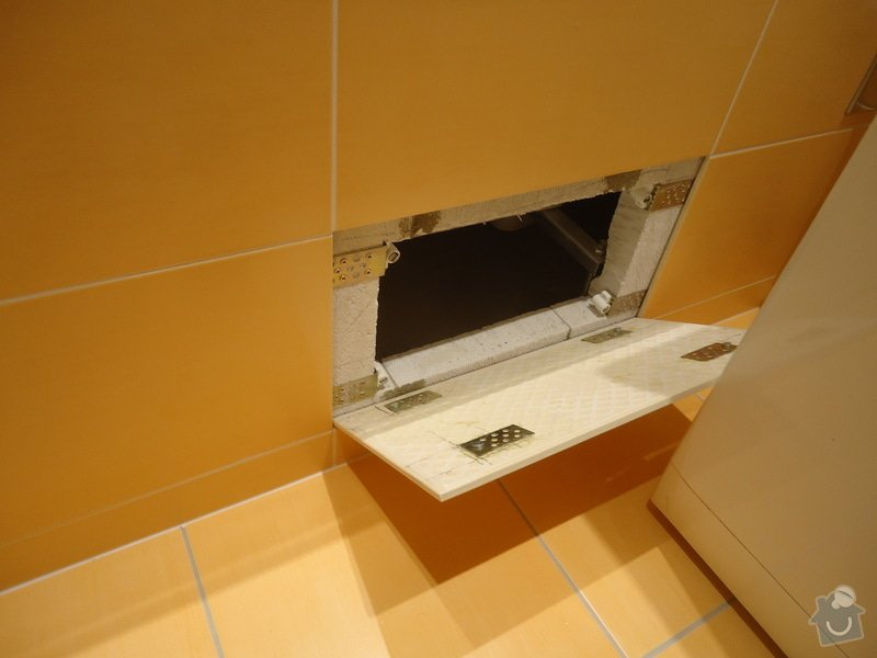 Rekonstrukci WC a koupelny: 10