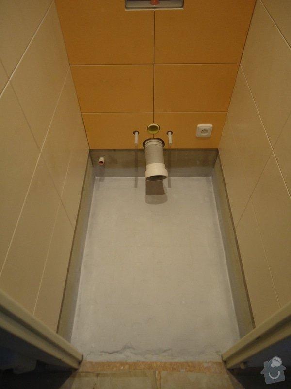 Rekonstrukci WC a koupelny: 13