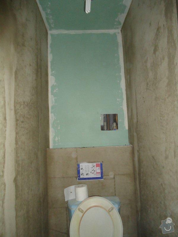 Rekonstrukci WC a koupelny: 17