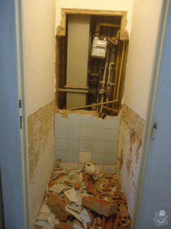 Rekonstrukci WC a koupelny: 23