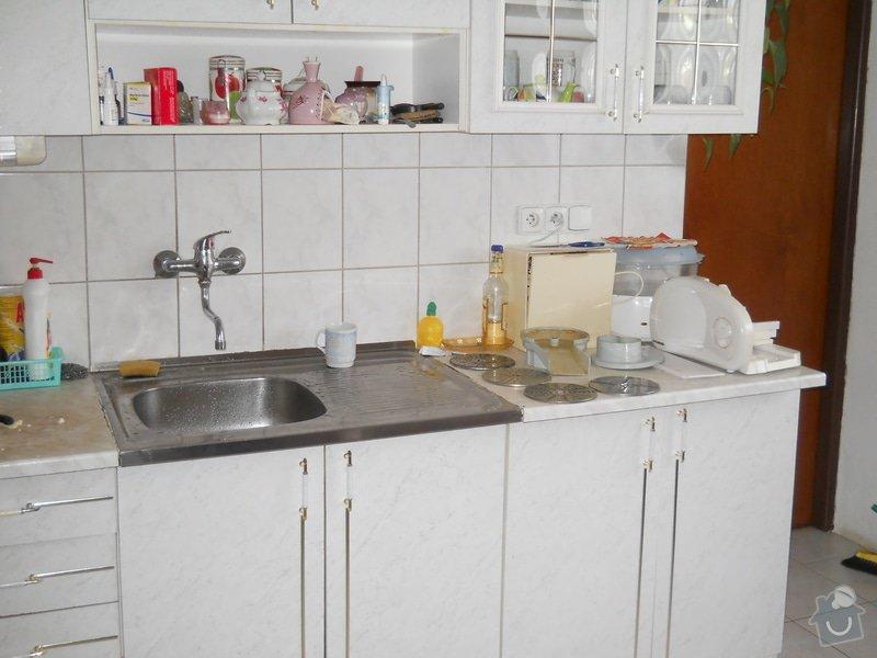 Provedení výměny pracovní desky kuchyňské linky: DSCN0701