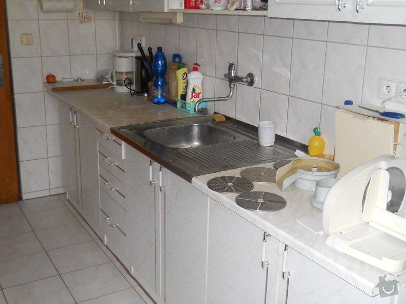 Provedení výměny pracovní desky kuchyňské linky: DSCN0702