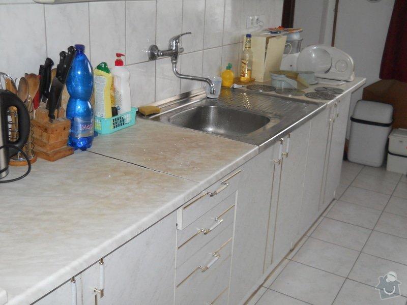 Provedení výměny pracovní desky kuchyňské linky: DSCN0703