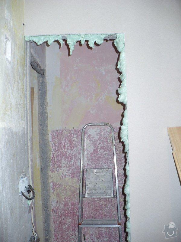 Rekonstrukce koupelny, wc, šatny,pokládka podlahy,malba: 2