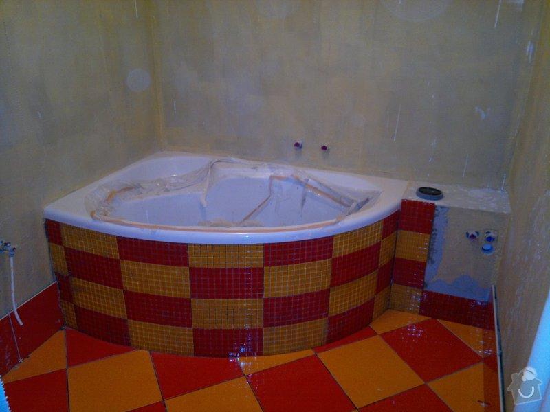 Rekonstrukce koupelny, wc, šatny,pokládka podlahy,malba: 8