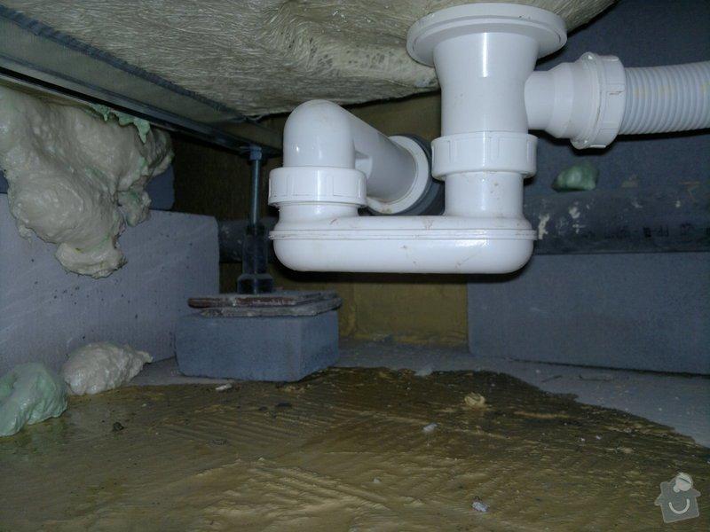Rekonstrukce koupelny, wc, šatny,pokládka podlahy,malba: 9