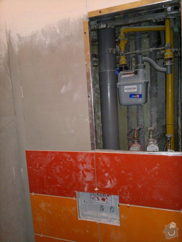 Rekonstrukce koupelny, wc, šatny,pokládka podlahy,malba: 13