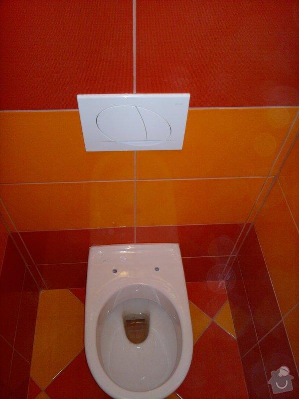 Rekonstrukce koupelny, wc, šatny,pokládka podlahy,malba: 16
