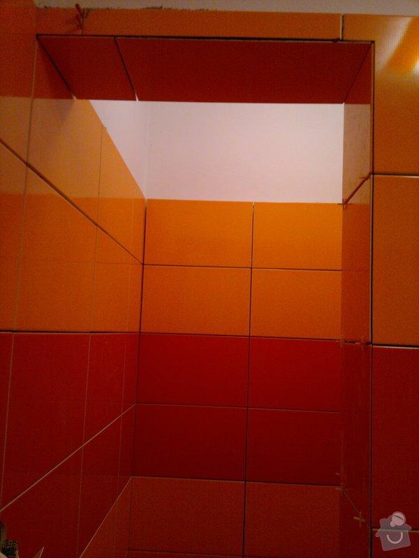 Rekonstrukce koupelny, wc, šatny,pokládka podlahy,malba: 18