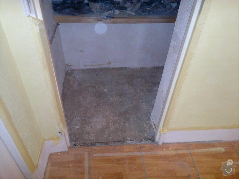 Rekonstrukce koupelny, wc, šatny,pokládka podlahy,malba: 20