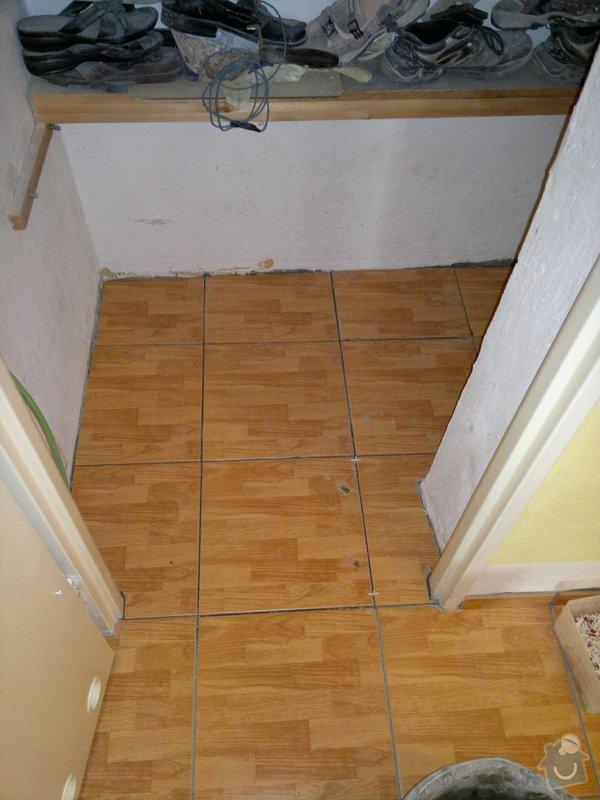 Rekonstrukce koupelny, wc, šatny,pokládka podlahy,malba: 23