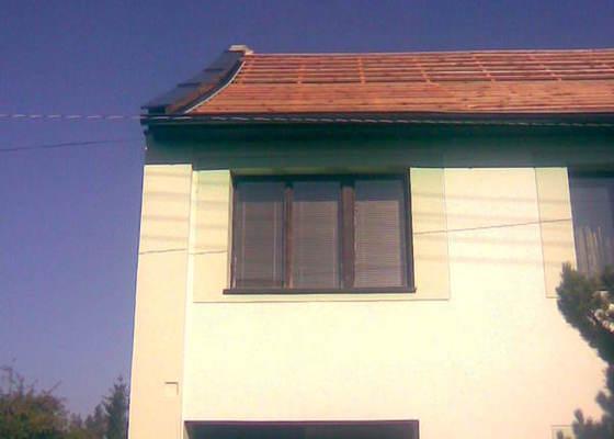 Renovace střechy na RD