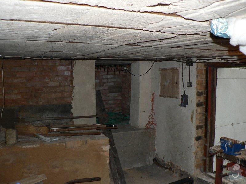 Stavební práce - bourací práce a vyzdění stěny ze ztraceného bednění: P1110392
