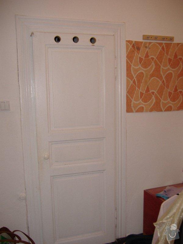 LAKOVÁNÍ, NÁTĚRY - DVEŘE, ZÁRUBNĚ, OKNA: Dvere_koupelna