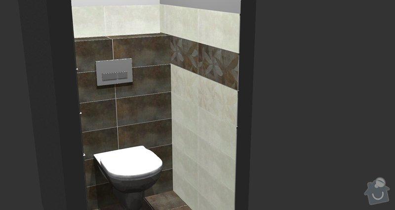 Rekonstrukce WC: 2