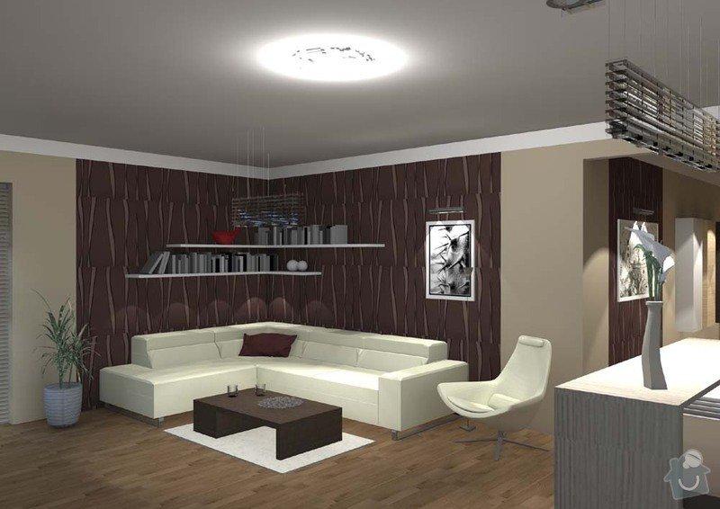 Návrh interiéru rodinného domu: Katovice1