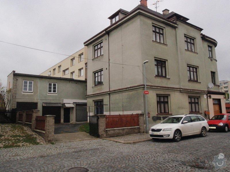 Fasádu bytového domu: PB100304