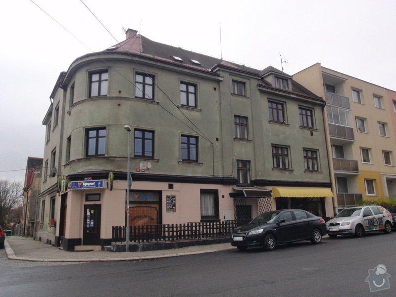 Fasádu bytového domu: PB100306
