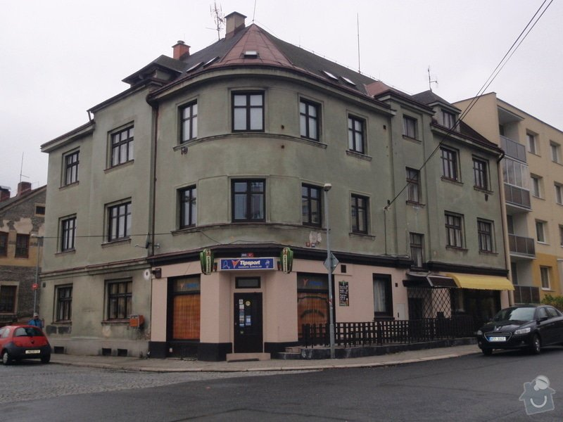 Fasádu bytového domu: PB100305