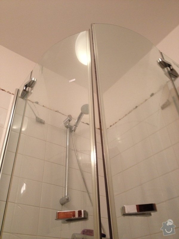 Rekonstrukce sprchového koutu: SK_zastena