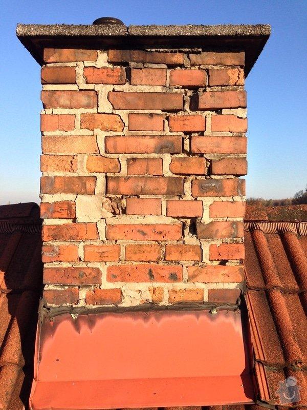 Rekonstrukce komínu a rozebrání druhého komínu: IMG_0410