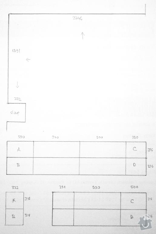 Kalibrované obklady položení 3,5 m2: sparorez
