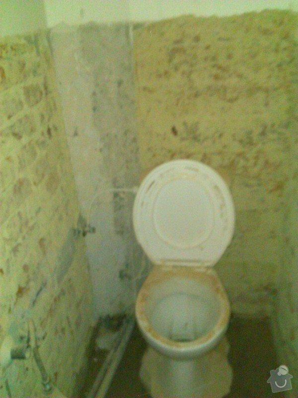 Rekonstrukce koupelny a wc: zachod
