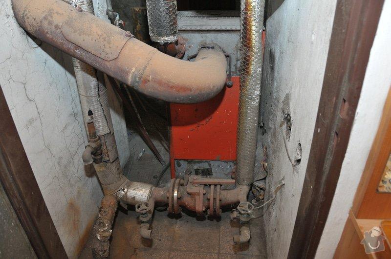 Instalace kotle Dakon FB2 30 Automat místo starého kotle Dakon URS 29: DSD_3707