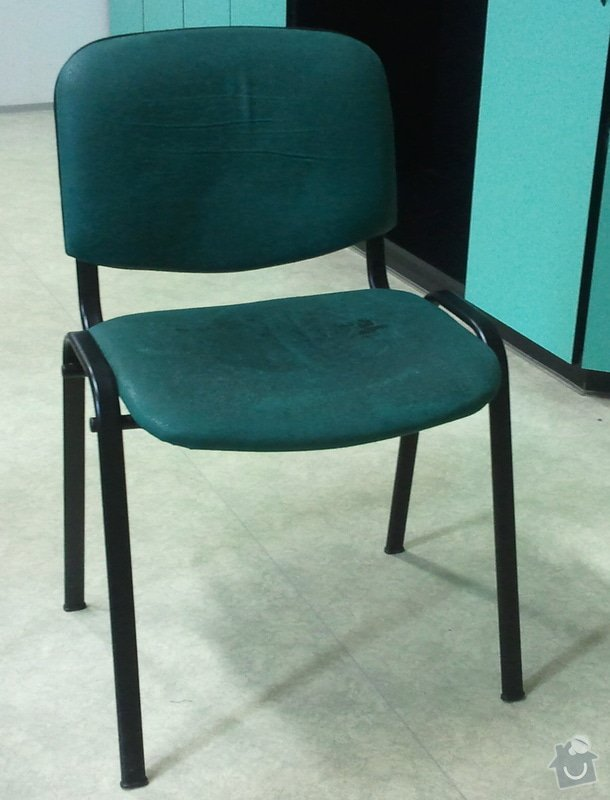 Nové čalounění na konferenční židle: zidle