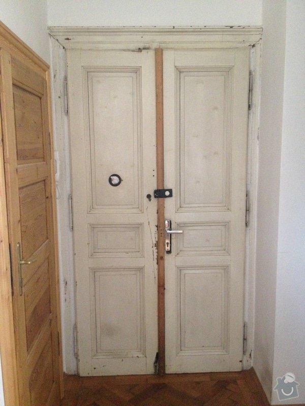 Zabezpečení dvoukřídlých vchodových dveří do bytu: photo_1