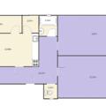 Lita podlaha do bytu 76m2 byt pudorys