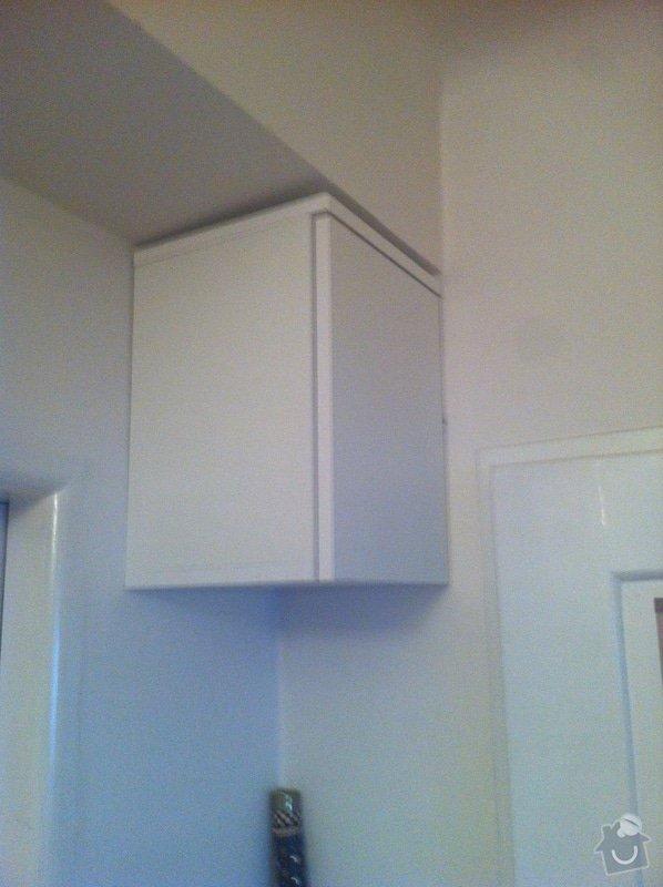 Zhotovení malé dřevěné poličky/skříňky na zeď pro schování modemu a wifi routeru: IMG_1624