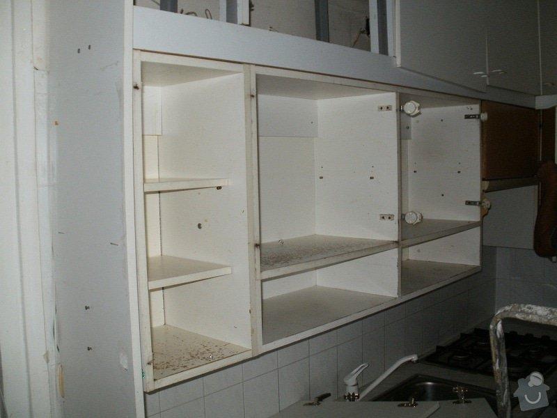 Rekonstrukce bytového jádra, stavební úpravy kuchyně a chodby: 1
