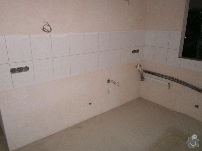 Rekonstrukce bytového jádra, stavební úpravy kuchyně a chodby: 4