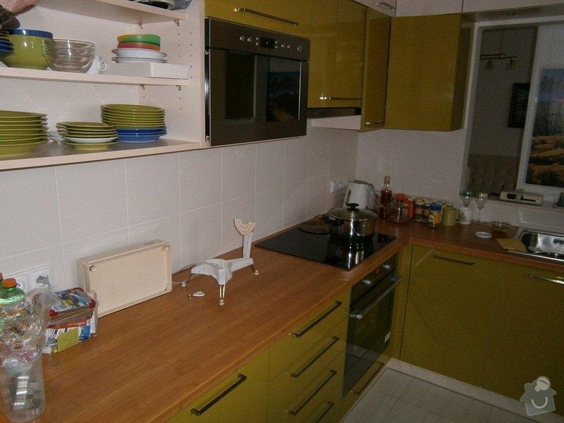 Rekonstrukce bytového jádra, stavební úpravy kuchyně a chodby: 5