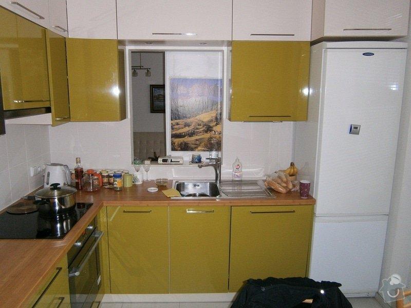Rekonstrukce bytového jádra, stavební úpravy kuchyně a chodby: 6