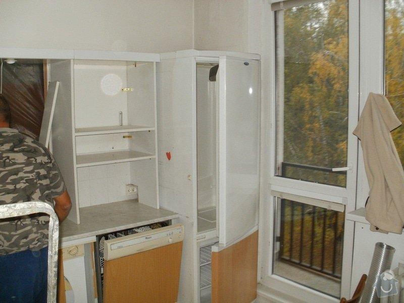 Rekonstrukce bytového jádra, stavební úpravy kuchyně a chodby: 7