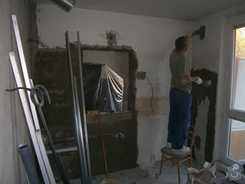 Rekonstrukce bytového jádra, stavební úpravy kuchyně a chodby: 8